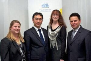 2011: (f.l.t.r.) Mareike Fröhlich, Goya Kobayashi, Susanne Ritter and Eric Kessler