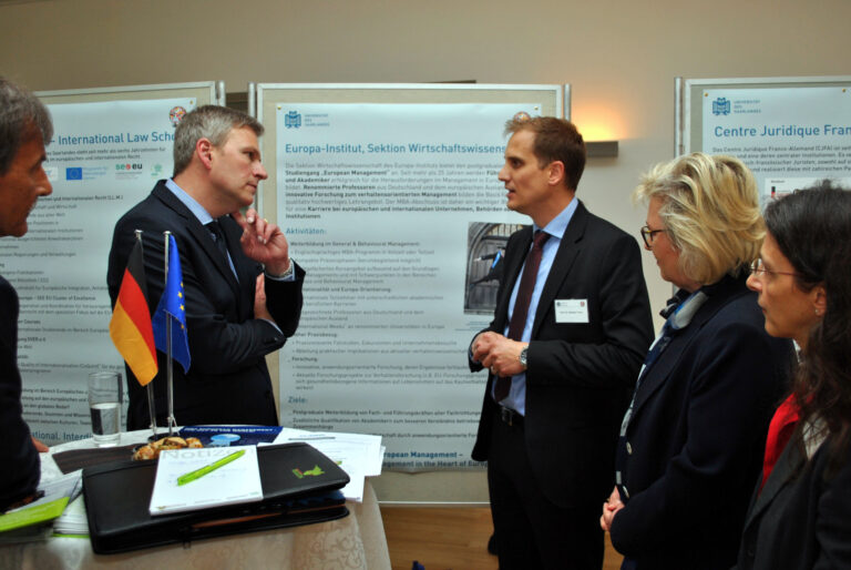 Visit from Mr. Peter Strobel, the new Minister of Europe