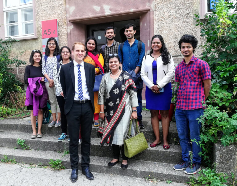 Besuch der indischen Generalkonsulin, Frau Pratibha Parkar