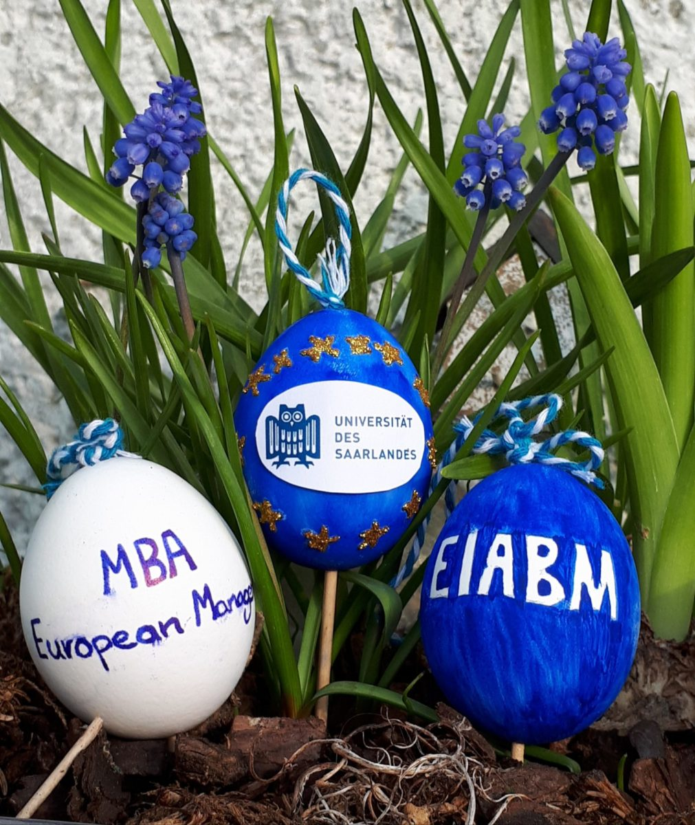 Happy Easter and Sunny Holidays to everyone from your EIABM Team !
