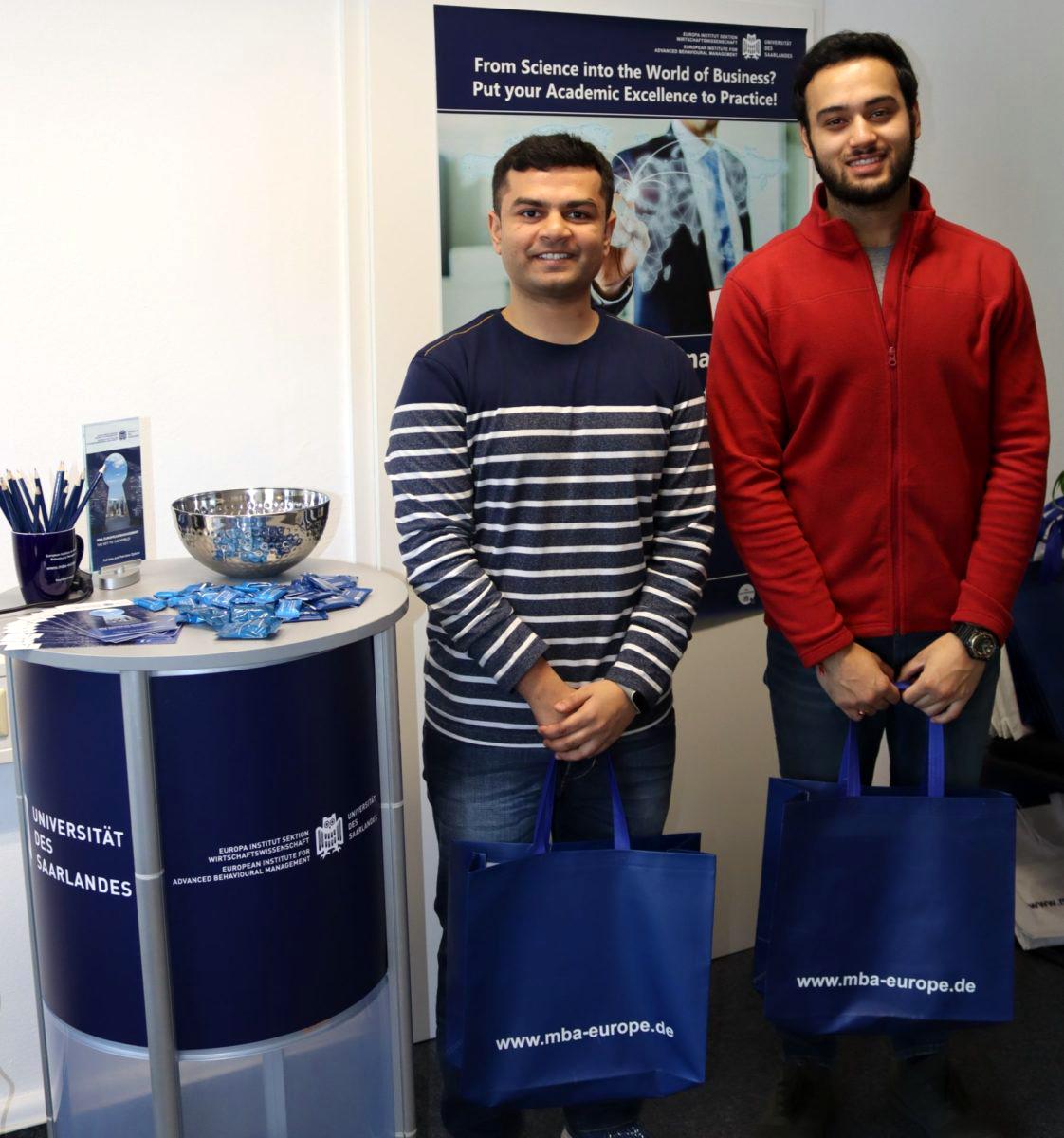 Wir begrüßen unsere neuen Gaststudenten vom Indian Institute of Foreign Trade, New Delhi!
