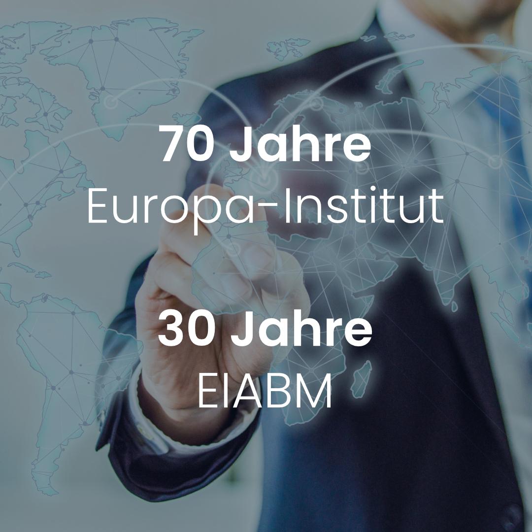 70 Jahre Europa-Institut
