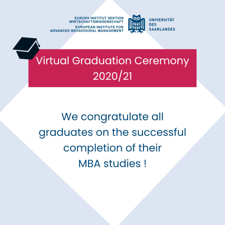 Virtual Graduation Ceremony 2020/21