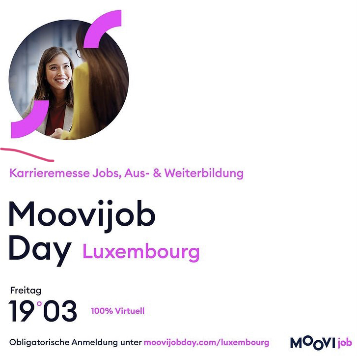 Read more about the article virtuelle Jobmesse Moovijob Day Luxembourg