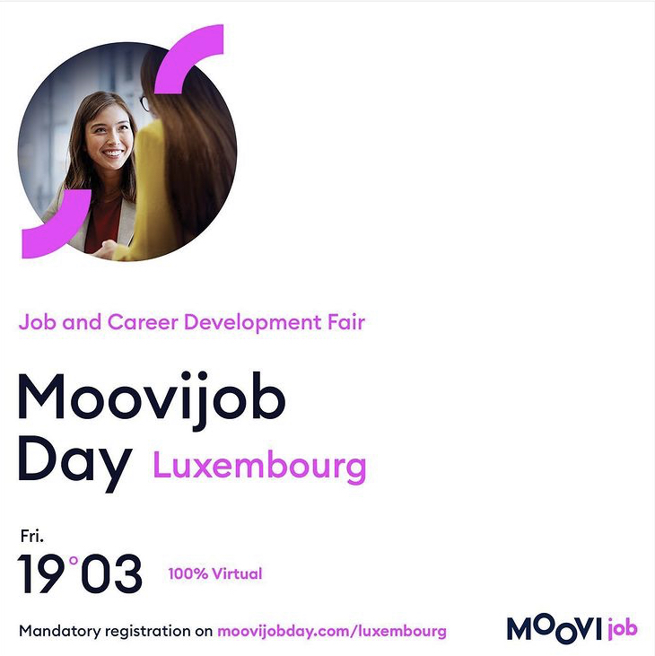 Virtual Job Fair Moovijob Day Luxembourg