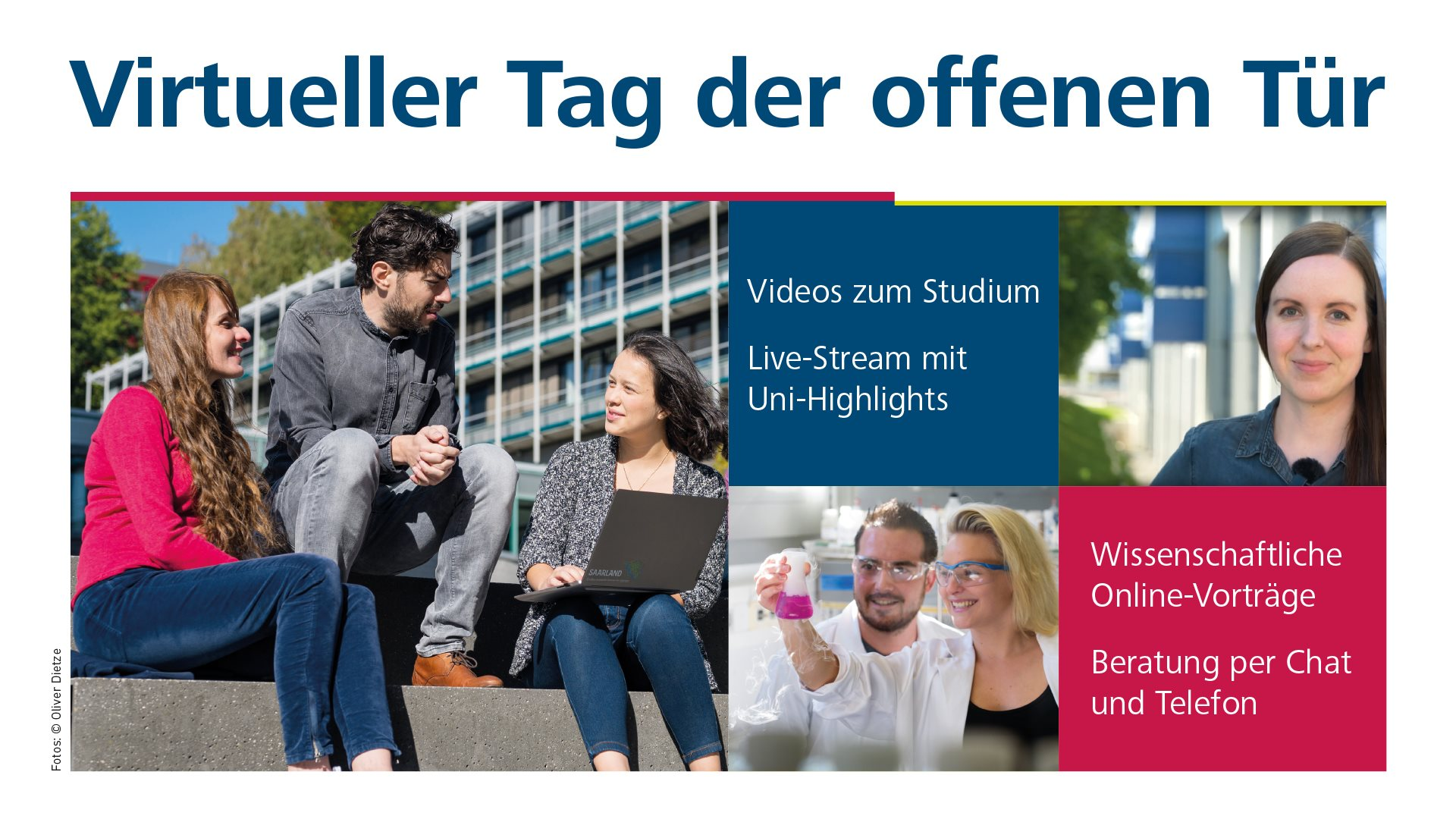 You are currently viewing Virtueller Tag der offenen Tür – 26. Juni 2021