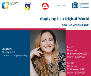 Read more about the article Workshop 'Applying in a Digital World' of the Carreer Center of Saarland University